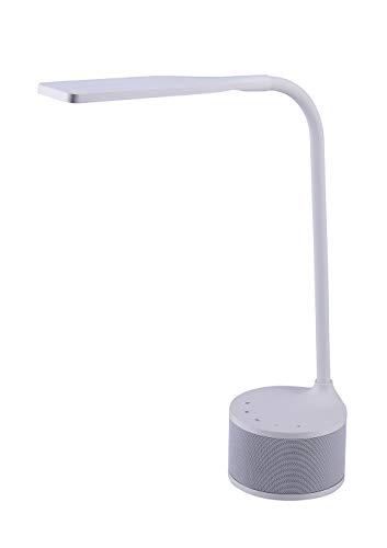 Bostitch Office Vled1817white Bos Bluetooth Speaker Led
