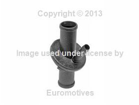 Mercedes w210 (96-99) Heater Pipe Left Firewall to Core (Heater Core Pipe)