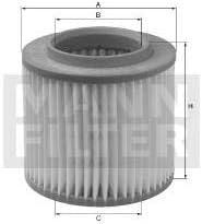 Filtro de aire repuesto MANN 65000728