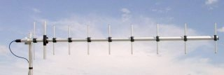Sirio WY400-10N UHF 400-470 MHz Base Station 10 Element Yagi Antenna by Sirio Antenna