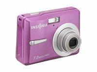 insignia NS-DSC7P09 7MP Digital Camera (Pink)