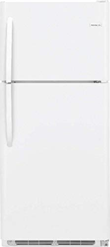 20 Cubic Foot Freezer - Frigidaire FFHT2032TP 30 Inch Freestanding Top Freezer Refrigerator with 20 cu. ft. Total Capacity, in Pearl White