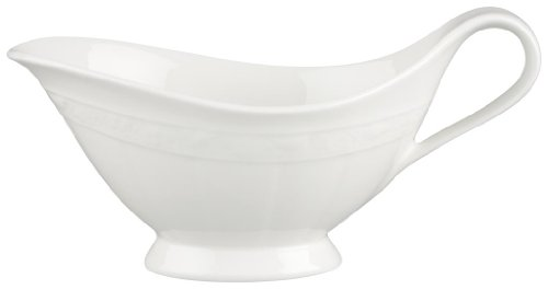 Villeroy and Boch White Pearl Sauceboat 0.40L (Sauce Boat Only) ()