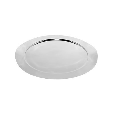 SteelForme Round Tray, Silver, 16