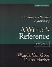 Download Developmental Exercises To Accompany A Writer's Reference - Fifth Edition ebook
