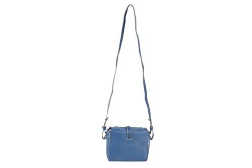 SALVADOR BACHILLER Tasche Schultertasche - Mika 5760 - Commercial Blue