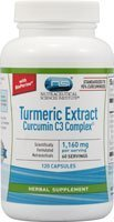 Vitacost Turmeric Extract Curcumin C3 Complex with Bioperine -- 1160 mg per serving - 120 Capsules by Nutraceutical Sciences Institute (NSI) (Vitacost Turmeric Extract compare prices)
