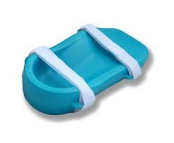 Icy Feet Plantar Fasciitis Pain Relief, Blue, Right Foot (Ice Blue Contacts)