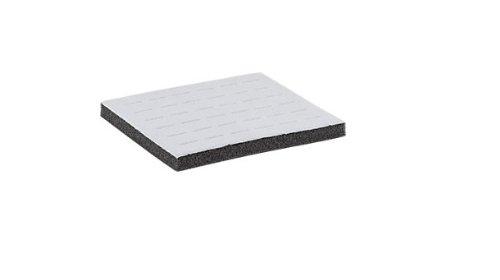 Grey Velvet Flocked Displays 36 Ring Insert Foam Pad Fits Half Size Tray & Case