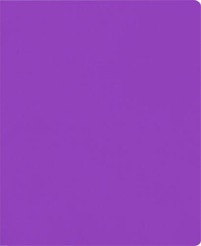 Lion 2-Pocket Plastic Folder, Lavender Purple, Pack of 4 (91100-LP-4P)