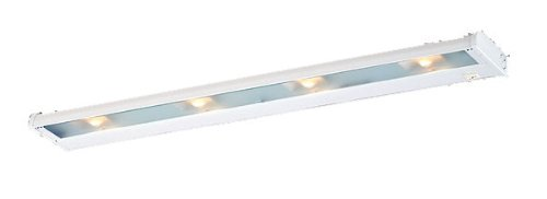 CSL Lighting NCA-120-32BZ Counter Attack 4-Light Undercabinet Fixture, Bronze Finish with Prismatic Glass Diffuser by CSL Lighting