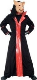 PMG Adult Halloween official Saw Deluxe Pig Costume - Large ...