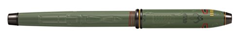 Cross Townsend Star Wars Limited-Edition Boba Fett Fountain Pen with Fine Nib (AT0046D-51FD) by Cross (Image #4)