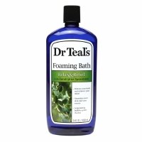 Dr. Teal\'s Foaming Bath, Relax & Relief with Eucalyptus Spearmint, 34 fl oz - 2pc