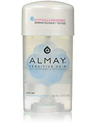 Almay Clear Gel Deodorant, 2.25 oz - Buy Packs and SAVE (Pack of 3)