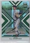 C.J. Chatham #12/25 (Baseball Card) 2016 Panini Elite Extra Edition - Autographs (Cut Chatham Emerald)