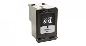 Inksters of America Remanufactured Ink Cartridge Replacement for HP 61XL Black, CH563WN, (#61XL), HP DeskJet 1000, 1050, 1055, 2050, 3000, 3050, 3050A, 3052A, 3054A - Hp Deskjet 1000 Printer Cartridge