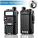Ansoko A-5R Dual Band Radio Walkie Talkies Long Range Ham Two Way Radios UHF/VHF(136-174MHz/400-520MHz) 128 Channel with Keypad Programmable (2 ()