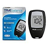 True Balance Glucose Meter Starter Kit, meter, case, and guide