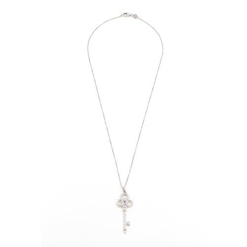 Cts Diamond Key Pendant - 6