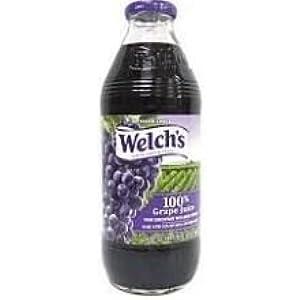 Welchs 100 Percent Purple Grape Juice, 16 Fluid Ounce -- 12 per case.