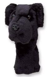 Headcover Lab Black - Daphne's HeadCovers: Headcover - Black Lab Dog