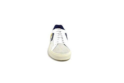 Voile Blanche Scarpa Uomo Sneaker Art. PORTOFINOPOWER91 Bco