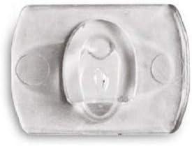 Command Pack de 20 Clips d/écoratifs avec 24 languettes Transparent