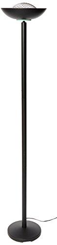 Lite Source Ls 80910blk Basic Ii 72 Inch 180 Watt Halogen Torchiere Floor Lamp Black Amazon Com