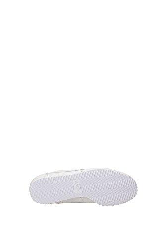 Nike W Classic Cortez Leather Prem, Zapatillas de Running para Niñas Blanco (Blanco (white/white))