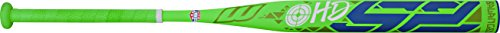 Worth HD52 SBH52A ASA Balanced Composite Slow Pitch Bat, Green, 34'/28 oz