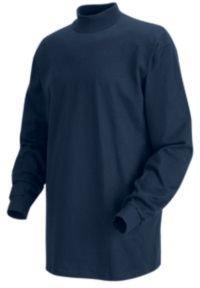 Red Kap Long Sleeve Mock Turtleneck, Men, 8301NV, RGL