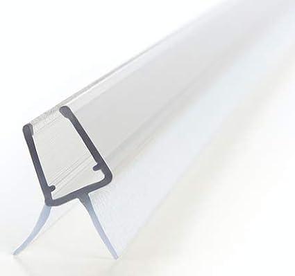 100cm Duschdichtung fü r Glasstä rken fü r 6mm / 7mm / 8mm Glasdicke - Ersatzdichtung fü r Duschtü ren - Wasserabweisprofil fü r Duschkabinen Zapf