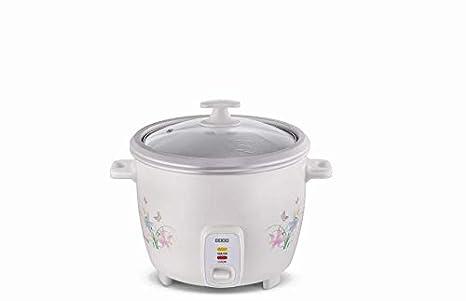 Usha 3710 1L 500-Watt Automatic Rice Cooker(White)