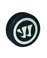 Warrior - Hockey Logo Puck, schwarz, Gr. 0