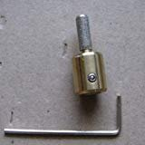 1/4'' Diamond Stained Glass Grinder Head Bit Quality Brass Core