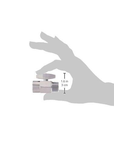 DANCO Shower Volume Control Shut-Off Valve, Chrome, 1.6 inch, 1-Pack (89171) by Danco (Image #7)