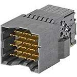 2 Items 173460-1617 Conn Backplane PL 36 POS 2.35mm Press Fit RA Thru-Hole Tray
