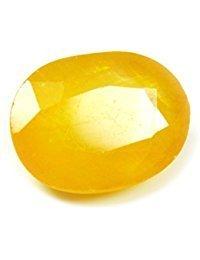 Getgemstones 10 Carat Yellow Sapphire Certified Natural Best Quality Loose Gemstone