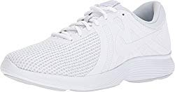 NIKE Mens Revolution 4 (4E) White White Pure Platinum Size 11 by NIKE