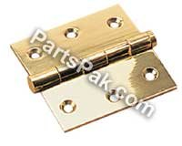 Brass Removable Pin (Sea Dog 2046201 CHROME BRASS REMOVABLE PIN HIN REMOVABLE PIN BUTT HINGE)