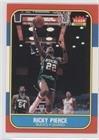 1986 Fleer Basketball Cards - Ricky Pierce (Basketball Card) 1986-87 Fleer - [Base] #87