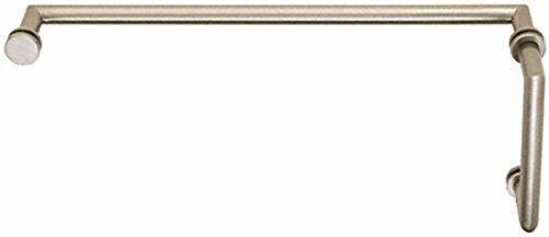 (C.R. LAURENCE MT8X18BN CRL Brushed Nickel MT Series Combination 8