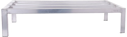 Stainless Steel Dunnage Rack - Winco ASDR-2036 20-Inch by 36-Inch Dunnage Rack, 8-Inch High, 1800-Pound Capacity