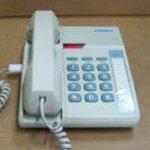 Telephone Corded Centurion (Cortelco Kellogg Centurion Basic Desk/Wall Mount Phone Ash)