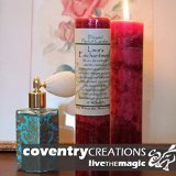 Blessed Herbal - Loves Enchantment Candle by Coventry Creations