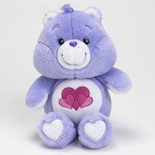 d701bda2af4 Amazon.com  Care Bears 20th Anniversary Harmony Bear 8 Plush Beanie ...