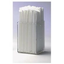 Dispense Rite Clear Acrylic Modular Straw Holder, 6 x 4 x 4 inch -- 3 per case. by Dispense Rite