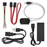SANOXY A12940 SATA/PATA/IDE Drive to USB 2.0 Adapter Converter Cable