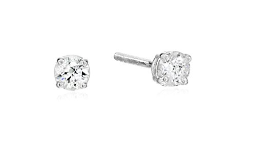 14k-Gold-Round-Cut-Diamond-Screw-Back-and-Post-Stud-Earrings-H-I-Color-I2-Clarity